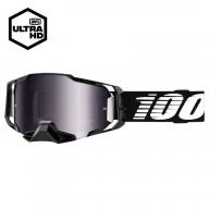 Lunettes Motocross 100% ARMEGA Black Mirror