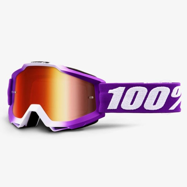 Gafas de Minicross 100% Accuri JR FRAMBOISE
