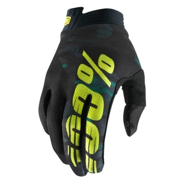 Motocross-Handschuhe 100% iTRACK Camo
