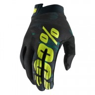 Motocross Gloves 100% iTRACK Camo
