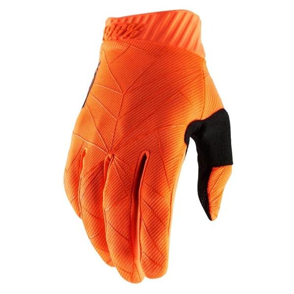 Gants Motocross 100% RIDEFIT Orange