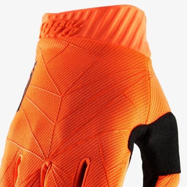 Guantes Motocross 100% RIDEFIT Orange