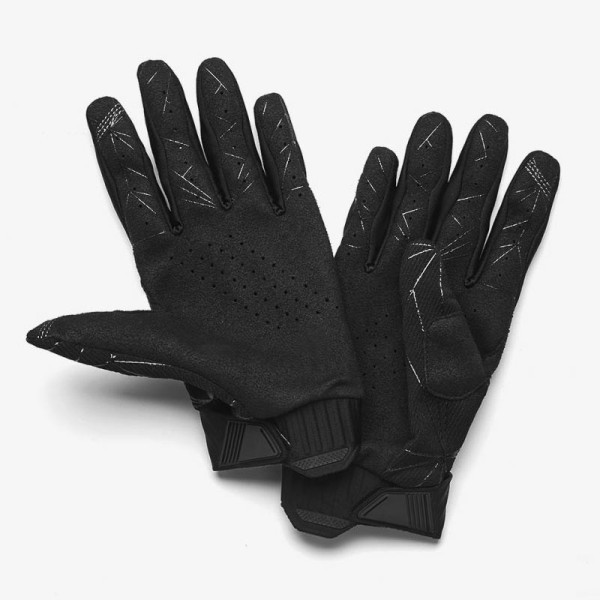 Motocross-Handschuhe 100% RIDEFIT Black