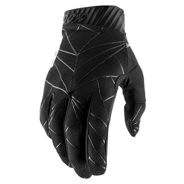 Guanti Motocross 100% RIDEFIT Black