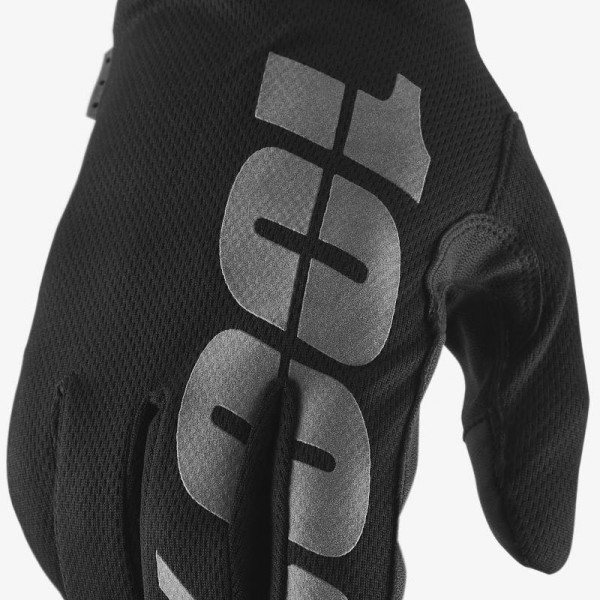 Motocross Gloves 100% HYDROMATIC Black