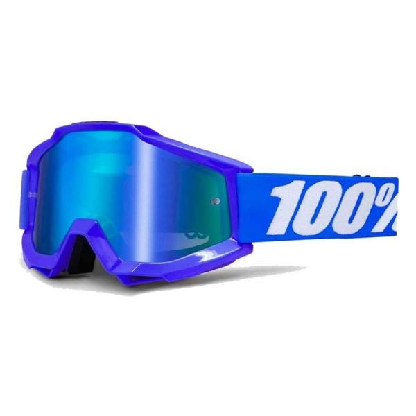 Occhiali Motocross 100% Accuri REFLEX BLUE