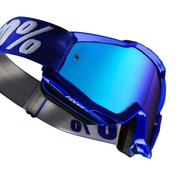 Motocross-Brille 100% Accuri REFLEX BLUE