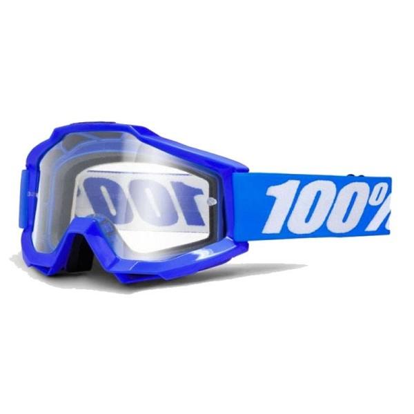 Lunettes Motocross 100% Accuri REFLEX BLUE