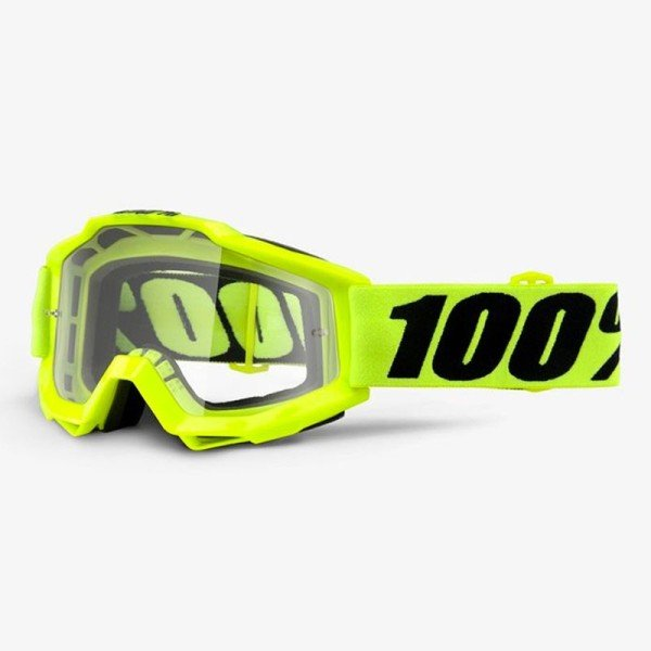 Lunettes Motocross 100% Accuri FLUO YELLOW