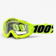 Gafas de Motocross 100% Accuri FLUO YELLOW