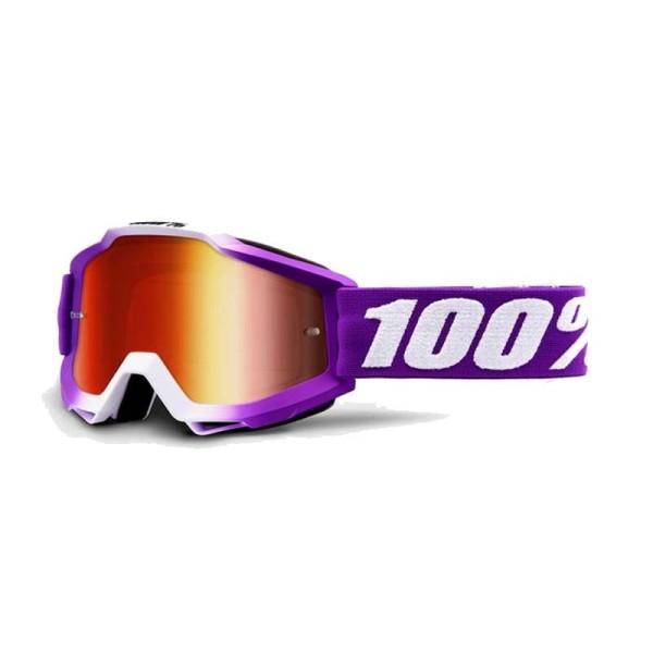 Lunettes Motocross 100% Accuri FRAMBOISE