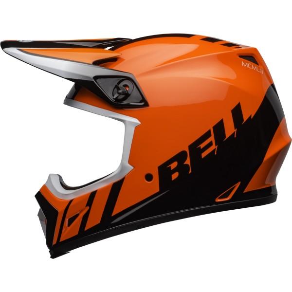 Motocross Helm BELL HELMETS MX-9 Mips Dash Orange