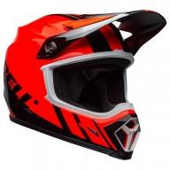 Casque Motocross BELL HELMETS MX-9 Mips Dash Orange