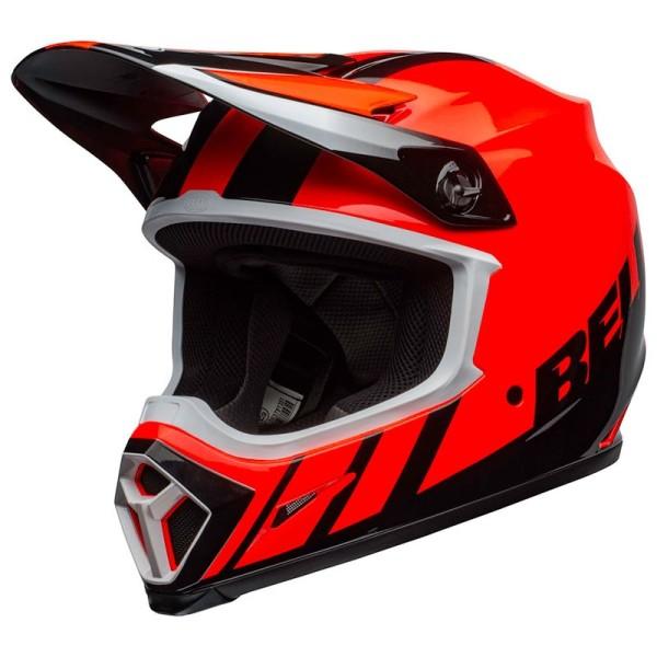 Casco de Motocross BELL HELMETS MX-9 Mips Dash Orange