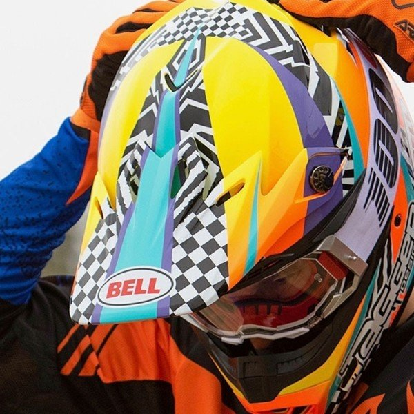 Casque Motocross BELL HELMETS MOTO-9 Mips Tagger Breakout