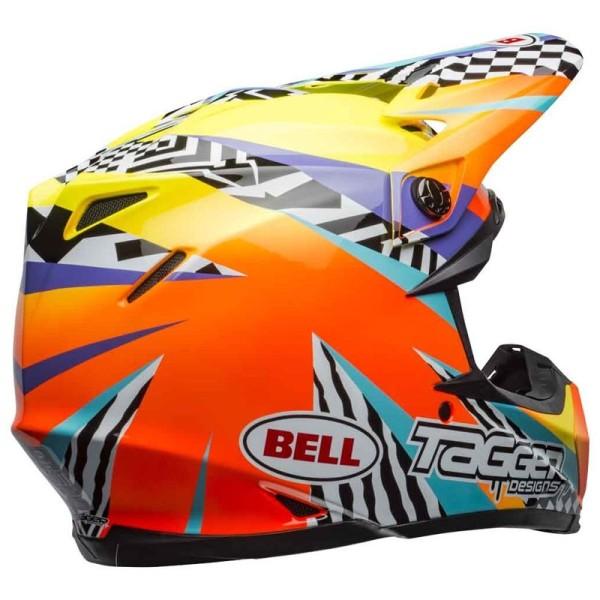 Casco de Motocross BELL HELMETS MOTO-9 Mips Tagger Breakout