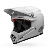 Motocross Helm BELL HELMETS MOTO-9 FLEX Solid White