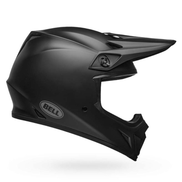 Motocross Helm BELL HELMETS MX-9 Mips Black