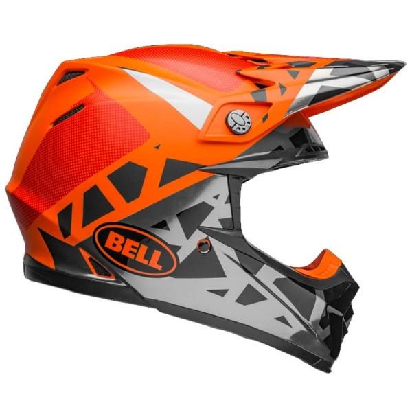 Casque Motocross BELL HELMETS MOTO-9 Mips Tremor