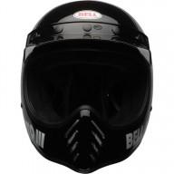 Motocross Helmet Vintage BELL HELMETS Moto 3 Nero