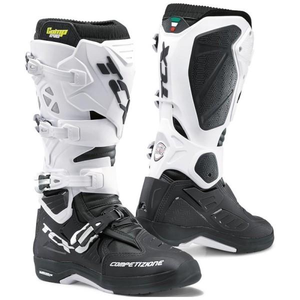 Botas Motocross TCX Comp Evo 2 Michelin negro blanco