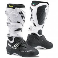 Bottes Motocross TCX Comp Evo 2 Michelin noir blanc