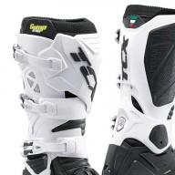 Motocross Stiefel TCX Comp Evo 2 Michelin schwarz weiß