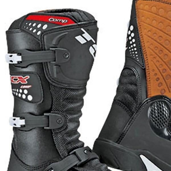 Bottes Minicross TCX Comp Kid Black