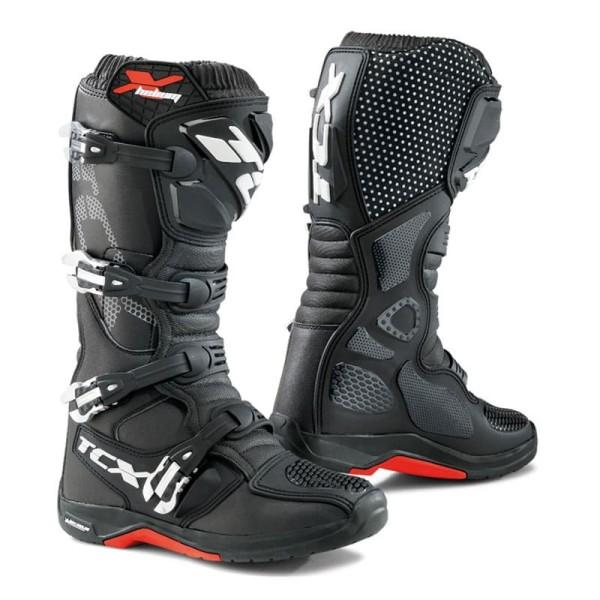 Motocross Boots TCX X-Helium Michelin Black
