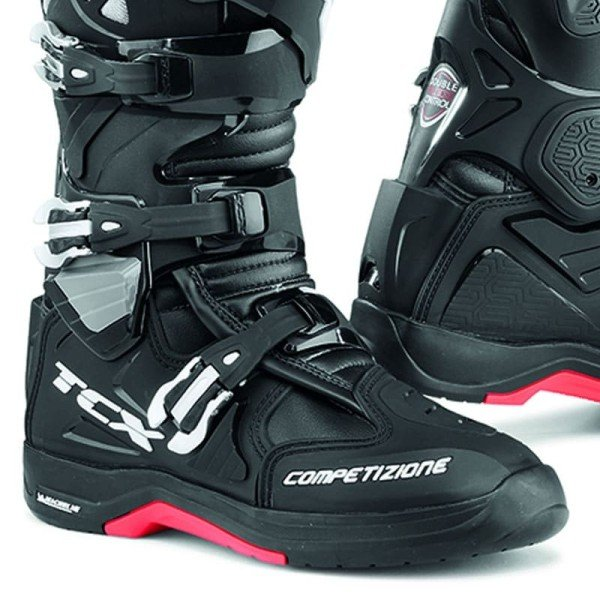 Bottes Motocross TCX Comp Evo 2 Michelin Black