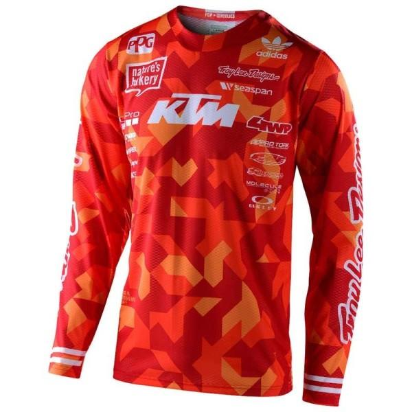 Troy Lee Designs GP Air Confetti Team KTM motocross jersey