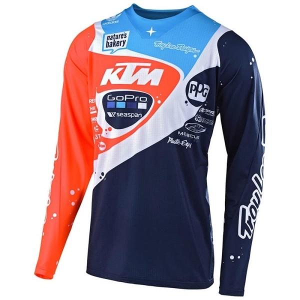 Motocross Trikot Troy Lee Designs SE PRO Neptune KTM