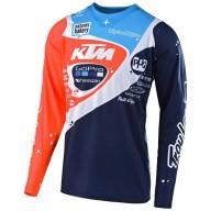 Camiseta Motocross Troy Lee Designs SE PRO Neptune KTM