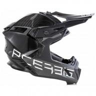 Motocross Helmet Acerbis Steel Carbon Black