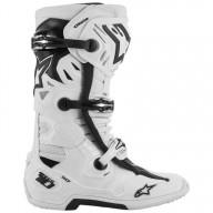 Motocross Stiefel Alpinestars Tech 10 White