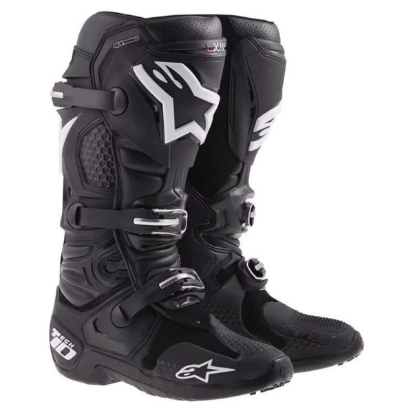 Motocross Stiefel Alpinestars Tech 10 Black