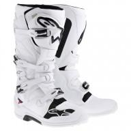 Bottes Motocross Alpinestars Tech 7 White
