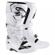 Motocross Stiefel Alpinestars Tech 7 White