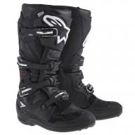 Motocross Boots Alpinestars Tech 7 Black
