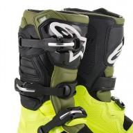 Bottes Motocross Alpinestars Tech 7 Yellow Green