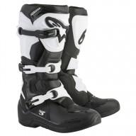 Botas Motocross Alpinestars Tech 3 Black White
