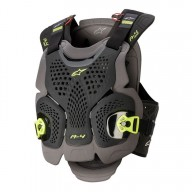 Chest Roost Protective Motocross Alpinestars A-4 Max Black