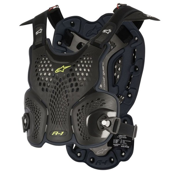 Pettorina Motocross Alpinestars A-1 Black