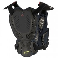 Chest Roost Protective Motocross Alpinestars A-1 Black
