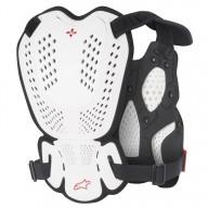 Peto Protector Motocross Alpinestars A-1 White