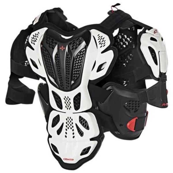 Peto Protector Motocross Alpinestars A-10 White