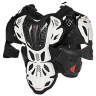 Chest Roost Protective Motocross Alpinestars A-10 White