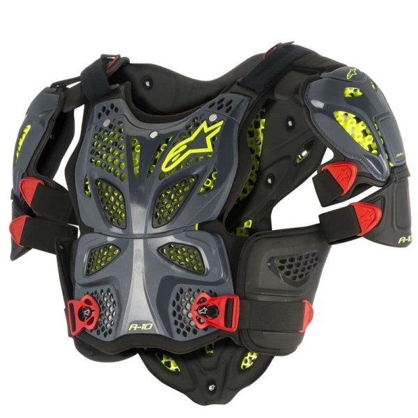 Chest Roost Protective Motocross Alpinestars A-10 Black