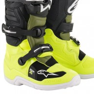 Minicross Stiefel Alpinestars Tech 7S Yellow Green