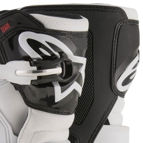 Botas Minicross Alpinestars Tech 7S Black White